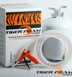 Spray Foam Kits by Tiger Foam