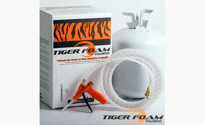 Fast Rise 600 Spray Foam Kit Tiger Foam