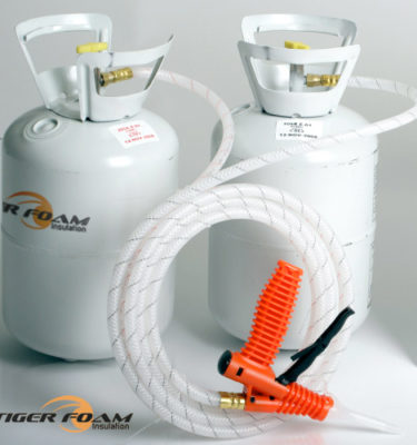 Fast Rise 200 Spray Foam Kit by Tiger Foam